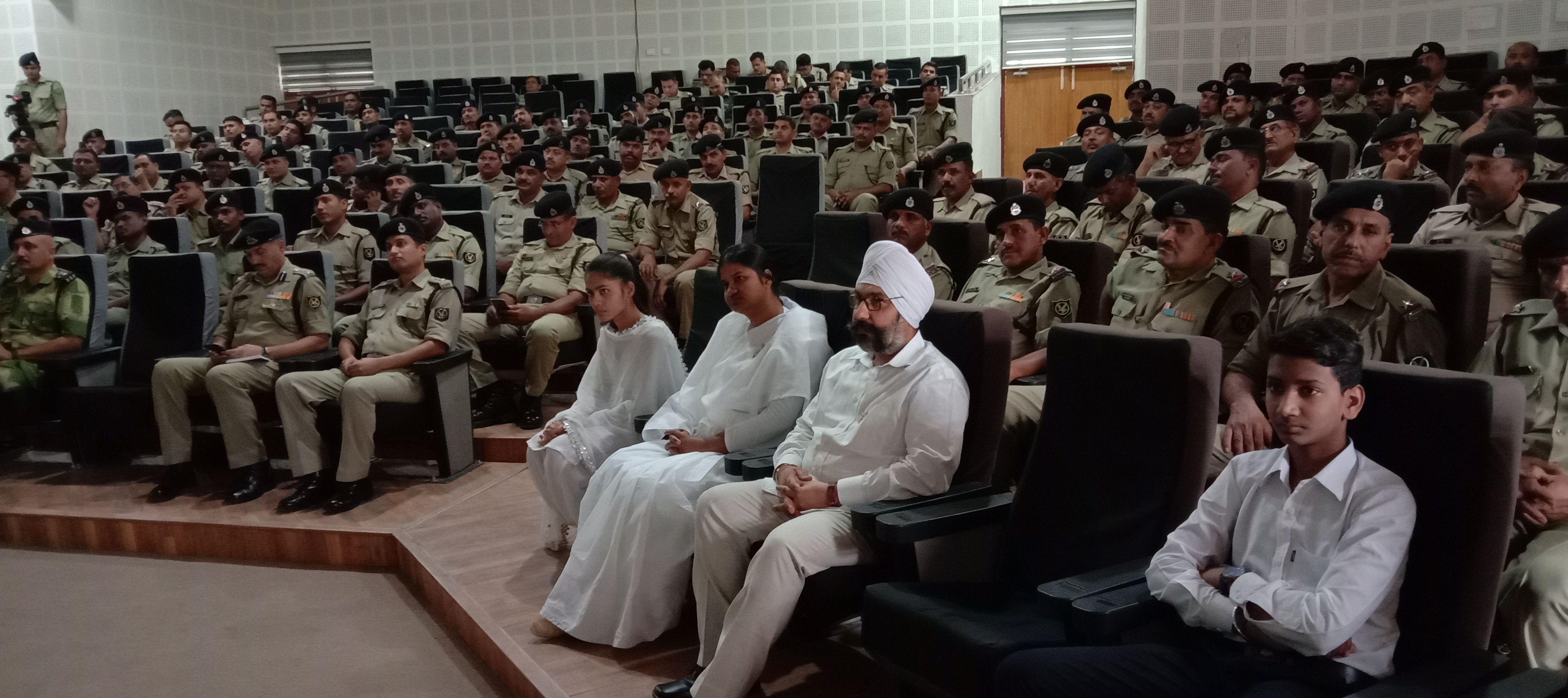 BSF टेकनपुर कार्यक्रम